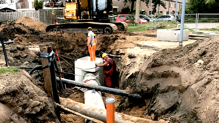 Leendertse Bronbemaling - project Waterplan Kinheim – Seevank