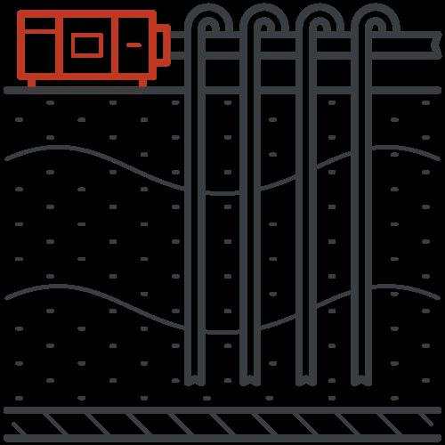 Leendertse Bronbemaling - verticale bemaling icoon